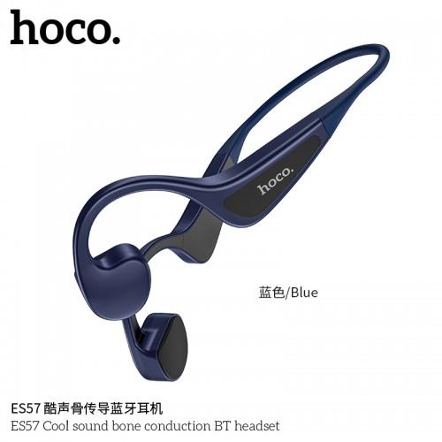 ES57 Cool Sound Bone Conduction BT Headset-Blue