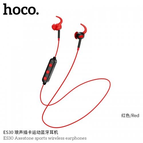ES30 Axestone Sports Wireless Earphones - Red