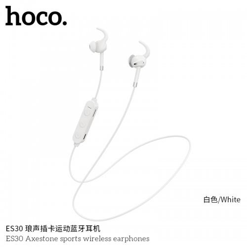 ES30 Axestone Sports Wireless Earphones - White