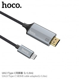 UA13 Type-C HDMI Cable Adapter (L=1.8M)