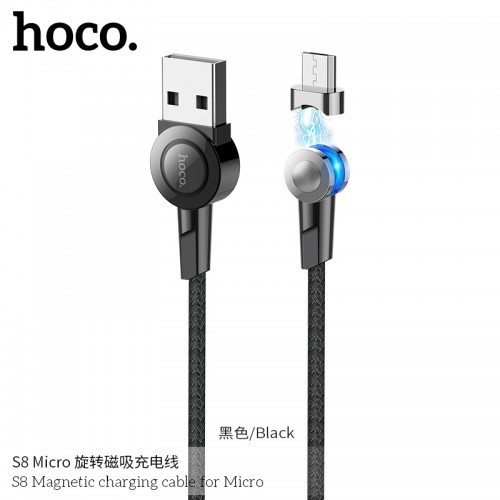 S8 Magnetic Charging Cable For Micro
