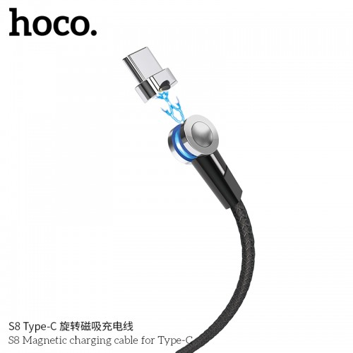 S8 Magnetic Charging Cable For Type-C