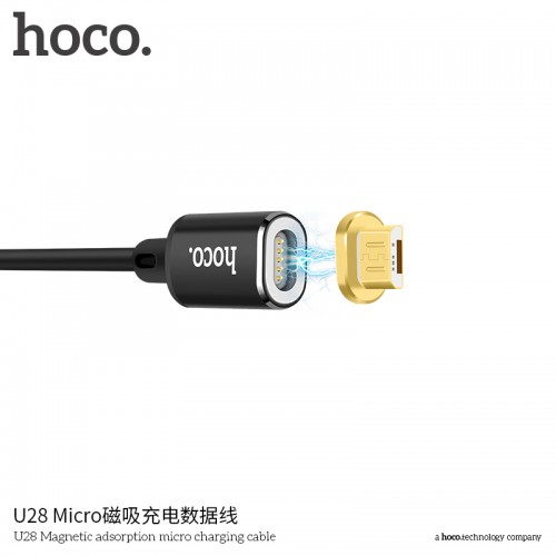 U28 Magnetic Adsorption Micro Charging Cable
