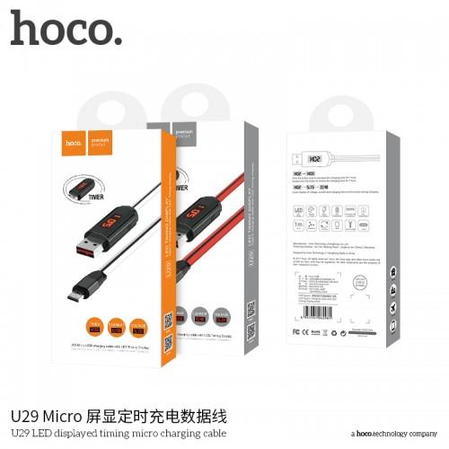 U29 LED Displayed Timing Micro Charging Cable