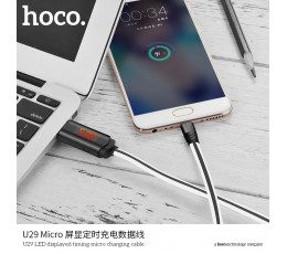 U29 LED Displayed Timing Micro Charging Cable