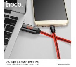 U29 LED Displayed Timing Type-C Charging Cable