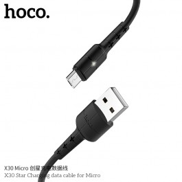 X30 Star Charging Data Cable For Micro