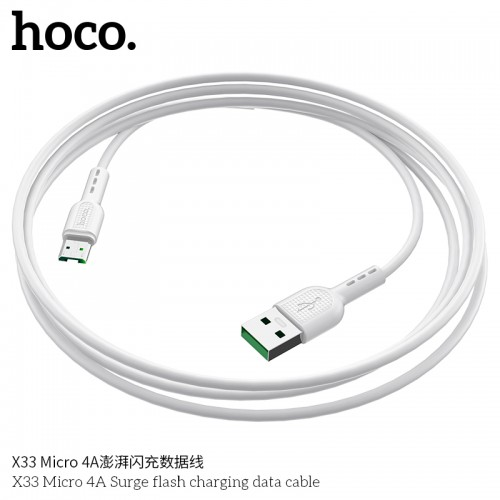 X33 Micro 4A Surge Flash Charging Data Cable