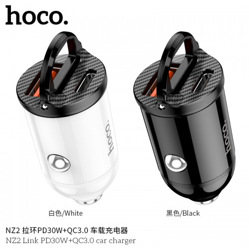 NZ2 Link PD30W+QC3.0 Car Charger