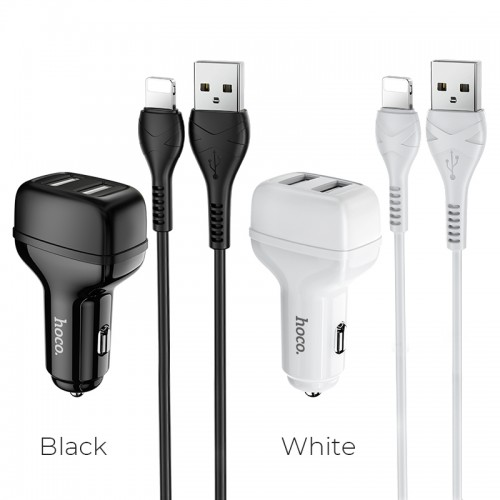 Z36 Leader Dual Port Car Charger (Lightning)