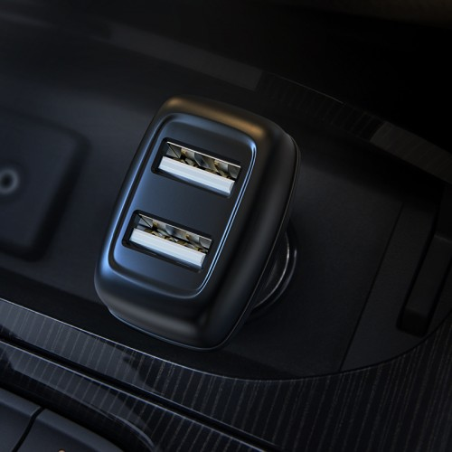 Z36 Leader Dual Port Car Charger (Type-C)