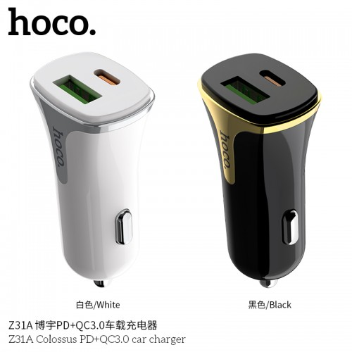 Z31A Colossus PD+QC3.0 Car Charger