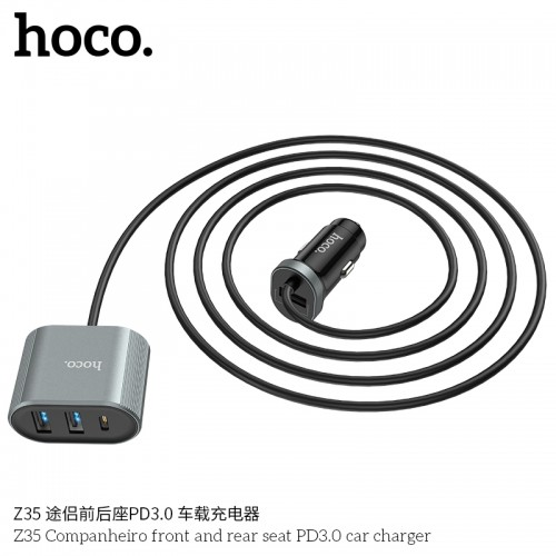 Z35 Companheiro Front And Rear Seat PD3.0 Car Charger