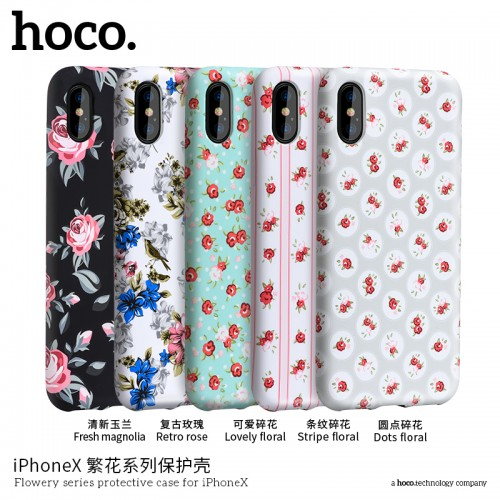 Flowery Series Protective Case for iPhoneX