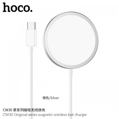 CW30 Original Series Magnetic Wireless Fast Charger