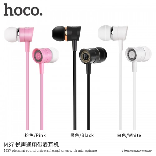 M37 Pleasant Sound Universal Earphones With Microphone