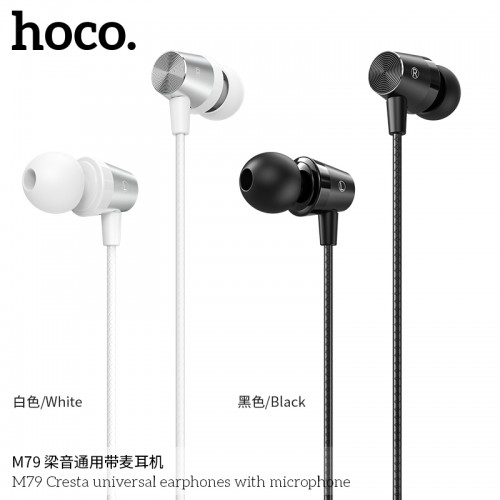 M79 Cresta Universal Earphones With Microphone