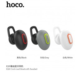 E28 Cool Road Bluetooth Headset