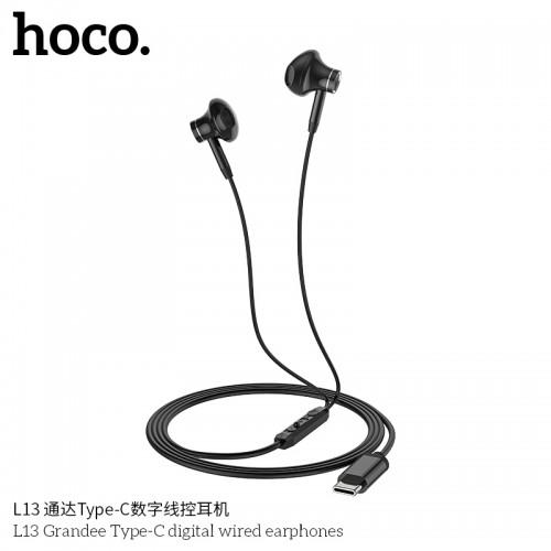 L13 Grandee Type-C Digital Wired Earphones
