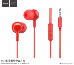 M14 Inital Sound Universal Earphone with Mic