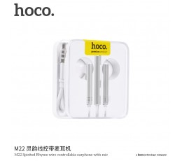 M22 Spirited Rhyme Wire Controllable Earphone With Mic