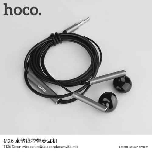 M26 Zorun Wire Controllable Earphone With Mic