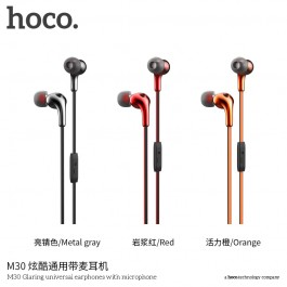 M30 Glaring Universal Earphones With Microphone
