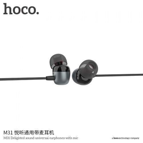 M31 Delighted Sound Universal Earphones With Mic