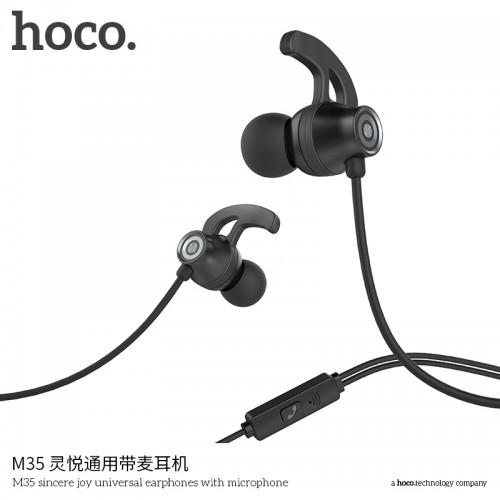 M35 Sincere Joy Universal Earphones With Microphone