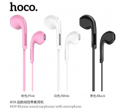 M39 Rhyme Sound Earphones With Microphone
