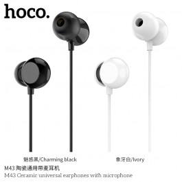 M43 Ceramic Universal Earphones With Microphone