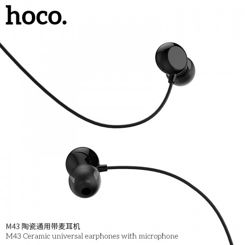 M43 Ceramic Universal Earphones With Microphone