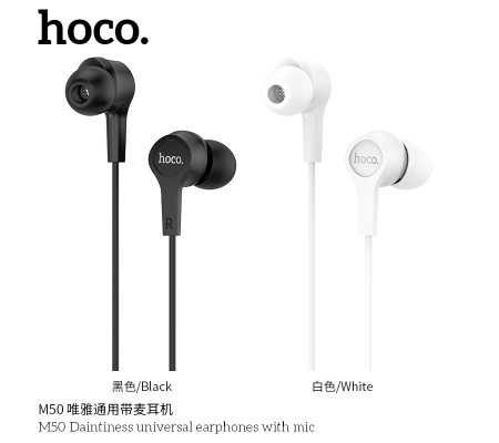 M50 Daintiness Universal Earphones With Mic
