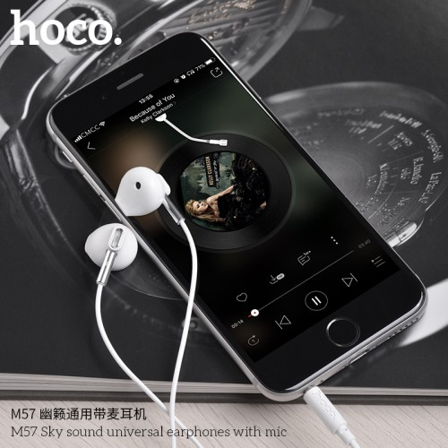 M57 Sky Sound Universal Earphones With Mic