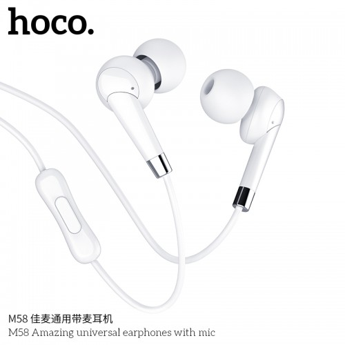 M58 Amazing Universal Earphones With Mic