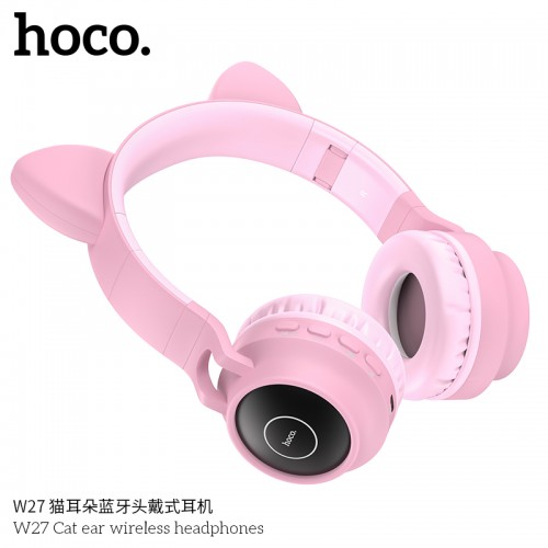 W27 Cat Ear Wireless Headphones