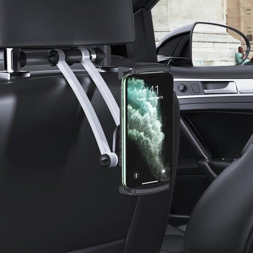 CA62 Handsome Aluminum Rear Pillow In-Car Holder