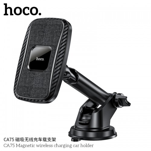 CA75 Magnetic Wireless Charging Car Holder