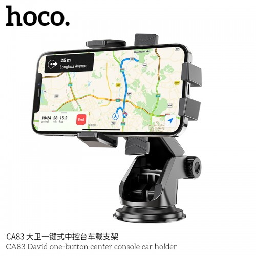 CA82 Just Fast Suction Cup Car Holder