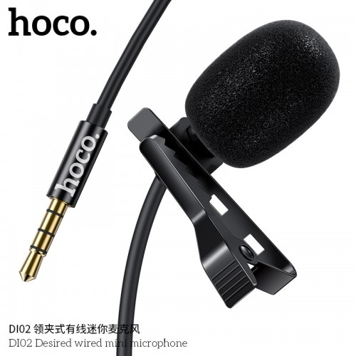 DI02 Desired Wired Mini Microphone
