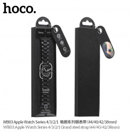 Apple Watch Series 4 WB03 Grand steel strap(44mm) - White