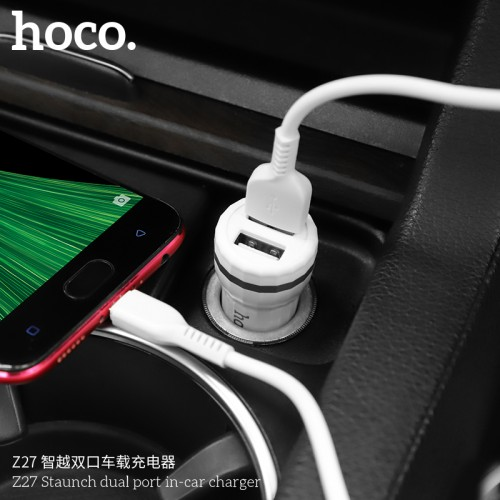 Z27 Staunch Dual Port In-Car Charger