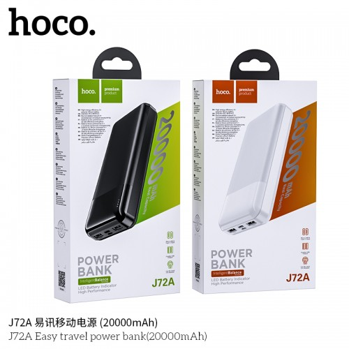 J72A Easy Travel Power Bank (20000mAh)