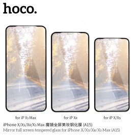 Mirror Full Screen Tempered Glass For iPhone XS Max (A15)