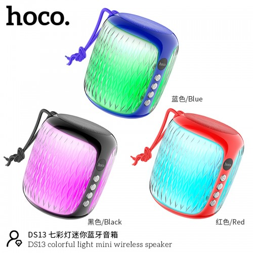 DS13 Colorful Light Mini Wireless Speaker