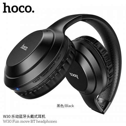 W30 Fun Move BT Headphones-Black