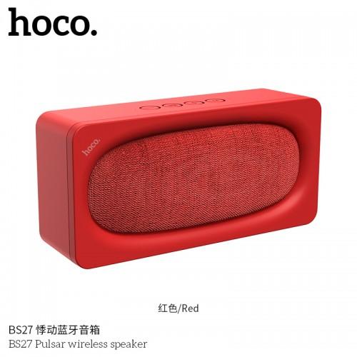 BS27 Pulsar Wireless Speaker - Red